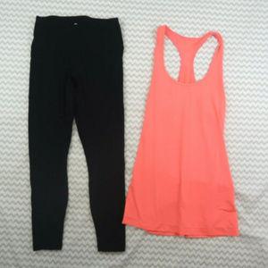 90 Degree by Reflex legging pants black yoga capri